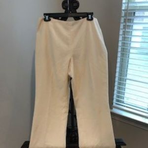Dana Buchman cream women's pants